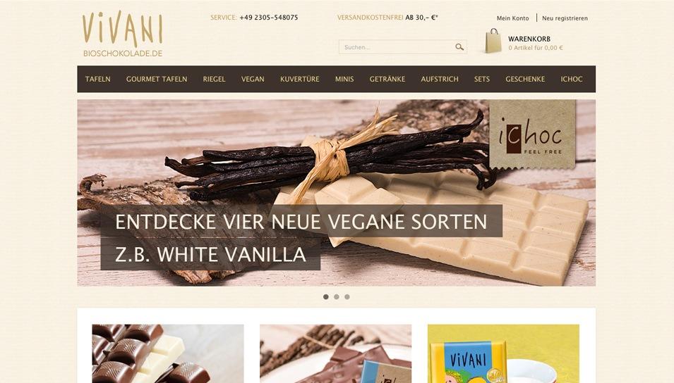 Bioscholade.de Online Shop