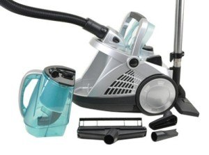 Aqua Laser® Vacuum Jet beutelloser Staubsauger Nass und Trockensauger mit Wasserfiler & Hepa-Filter - Ideal für Allergiker