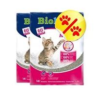 Klumpende Katzenstreu mit Sommerduft, Qualität aus Deutschland, mit extra feiner Körnung - 4 x ergiebiger als herkömmliche Katzenstreu, sehr staubarm, maximale Geruchsbindung.