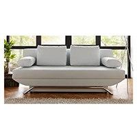 Das Bettsofa Cady Weiß von DeLife: Komfort für die Gäste