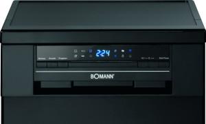 Bomann GSP 852 schwarz Geschirrspüler// A++ / 197 kWh/Jahr / 9 MGD / Energieeffizienzklasse A++ / schwarz [Energieklasse A++]