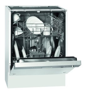 Bomann GSPE 773.1 teilintegrierbarer Geschirrspüler// Einbau /A+ A / 12 Maßgedecke / 55 db / Edelstahl / 60 cm [Energieklasse A]