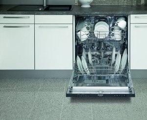 Bomann GSPE 786 vollintegrierbarer Geschirrspüler// Einbau / A+ A / 291 kWh/Jahr / 3360 Liter/Jahr / 12 MGD / 48 dB / Breite 60 cm / 6 Programme / schwarze Bedienblende [Energieklasse A+]