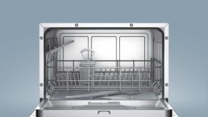 Bosch SKS62E22EU Tischgeschirrspüler// A+ / 174 kWh/Jahr / 6 MGD / ActiveWater Technologie / Beladungs-Sensor [Energieklasse A+]