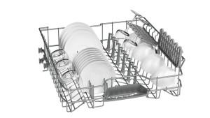 Bosch SMI40C05EU Geschirrspüler Teilintegriert// A+ / 290 kWh / 12 MGD / ActiveWater Technologie / Beladungs-Sensor [Energieklasse A+]