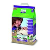 Cat's Best Nature Gold ist eine ideale klumpenbildende Katzenstreu für Langhaarkatzen (z.B. Perserkatzen) und zu 100% biologisch abbaubar - Abfallklumpen können über die Toilette entsorgt werden.