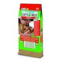 Cats Best Öko Plus ist bis zu 3 x ergiebiger als herkömmliches klumpendes Katzenstreu, denn Flüssigkeit wird im Kapillarsystem der natürlichen Pflanzenfasern viel effektiver gebunden.