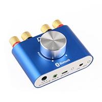 Minigröße und elegantes Design, ausgestattet mit DC12V 5A Netzteil , 1,2 m Dual Φ3.5mm Audio-Signalkabel und 1,5 m AV-Audio-Signalkabel.