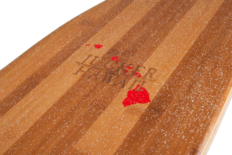 Longboard Deck Bambus Holz
