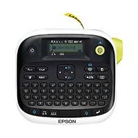 Der Epson LW-300 ist dank ergonomischer Tasten, integrierter Tastatur und einer hochwertigen LCD-Anzeige einfach zu bedienen.