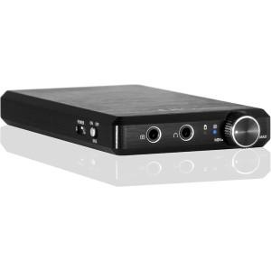 FiiO Mont Blanc E12 tragbarer Kopfhörer Verstärker (3.5 mm Stereo Jack, Schwarz)
