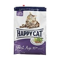 Happy Cat Fit & Well Best Age 10+ Senior Katzenfutter für alle älteren Katzen ab dem 10. Lebensjahr, leicht verdauliche Proteine von Geflügel, Lamm & Lachs, mit wertvoller Neuseeland-Muschel.