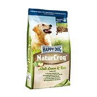 NaturCroq LAMM & REIS ist die ausgewogene, bekömmliche Vollnahrung mit wertvollem Lamm, leichtverdaulichem Reis und einem mäßigen Fettgehalt.
