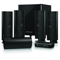 Harman/Kardon HKTS 65BQ/230 5.1-Kanal Surroundsound Heimkino-Lautsprechersystem