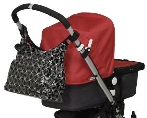 Kinderwagenbefestigung-Wickeltasche