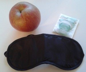 Kopfkissen-Apfel-Schlaf-