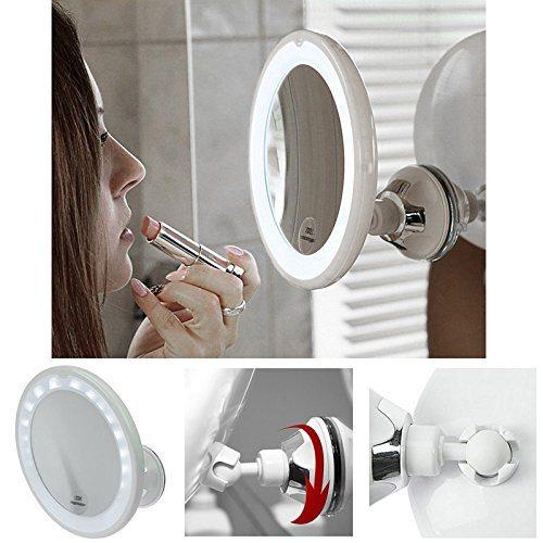 Welche Arten von Kosmetikspiegeln gibt es?