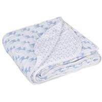 Die Lässig LLELAMCB01 Krabbel und Spieldecke Cozy Blanket Lela, X-large, 120 x 120 cm, hell blau belegt Platz 10
