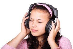 Kopfhörer Mädchen