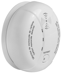 Mumbi Kohlenmonoxid-Melder bis 40m², 85dB Alarm, Prüftaste DIN EN50291 CM100