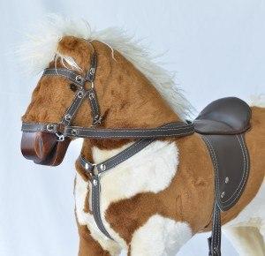 Pferd-zum-Schaukeln-Nahansicht