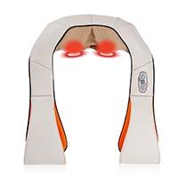 Massierende und entspannende Rotationsbewegungen; Massagetechnik ist im Gegensatz zur Klopfmassage zur Entspannung der Muskeln geeignet; 4 Massageköpfe; drehen sich mit und gegen den Uhrzeigersinn.