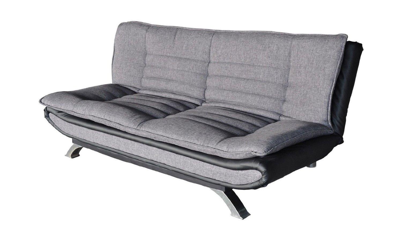 schlafsofa mit matratze und lattenrost finest schlafsofa heathfield in grauem webstiff mit. Black Bedroom Furniture Sets. Home Design Ideas