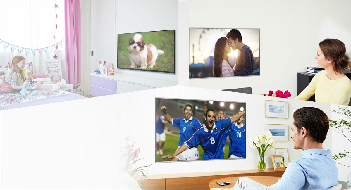 SmartTV-PanasonicVieraTXim Haus verteilt