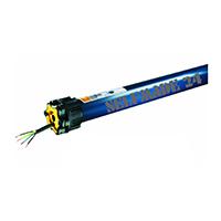 Somfy HiPro LT50 Meteor 20/17 Rollladenmotor/ Rohrmotor - Passend für 60 er 8-Kant Welle mit 1 m Anschlußkabel.