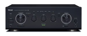 Teac A-R650MK2 Stereo-Vollverstärker (2x 120 Watt, 7 Audioeingänge, Phono, Mikrofoneingang, A/B, Tape-2 Monitor, Direktmodus, Kopfhörerausgang) schwarz