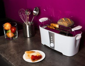 Tecvance-Toaster-Kuechentheke