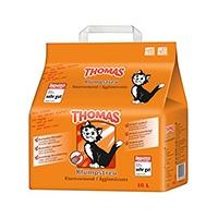 Mit THOMAS Katzenstreu sorgen Sie dafür, dass Sie den natürlichen Bedürfnissen Ihrer Katze gerecht werden. Denn THOMAS Katzenstreu ist besonders saugstark und hemmt wirkungsvoll unangenehmen Geruch.
