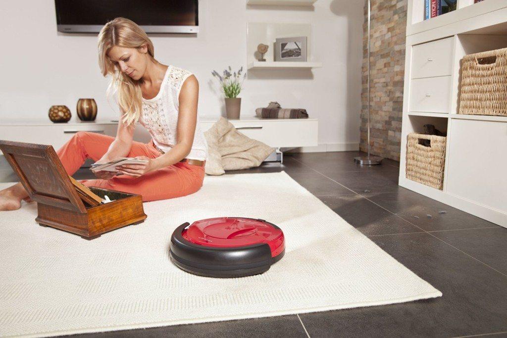 Vileda 142861 Relax - Saugroboter im Test säubert auf Hartboden und Teppich