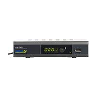 DVB-C2-Kabelreceiver DCR.100.fhd • USB-Mediaplayer: Abspielen von Bild-, Video- und Musikdateien • Untertitel wählen und aktivieren • Arbeitsspeicher: SDRAM 128 MB, Flash 4 MB, Steckplatz für USB-Speichermedium (für Ihre externe Festplatte bis 1 TB).