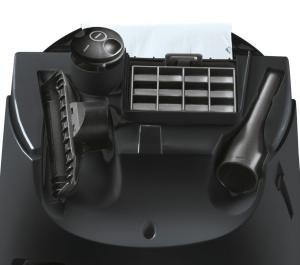 Düsenauswahl beim Staubsauger mit Beutel Synchropower von Siemens