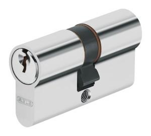 ABUS 104398 Zylinder-Set 3-Stück, gleichschließend SB mit 4 Schlüsseln