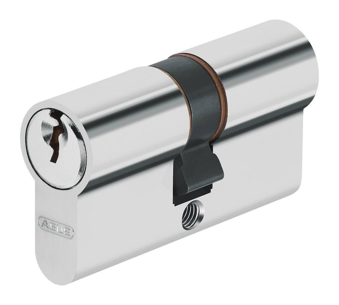 ABUS EC550 Profil-Doppelzylinder L/änge 45//60mm mit 6 Schl/üssel