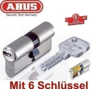 ABUS EC750 Extra Classe Profil-Doppelzylinder Länge 45/45mm mit 6 Schlüssel