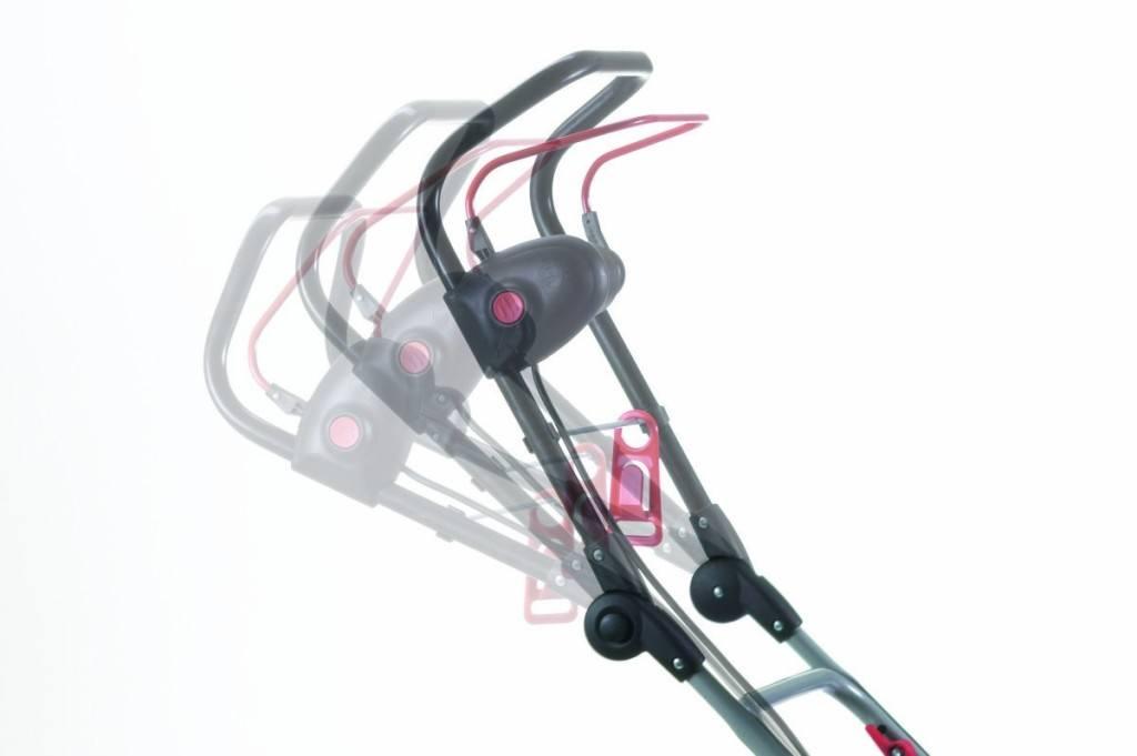 Elektro Rasenmäher von AL-KO mit verstellbarem Griff