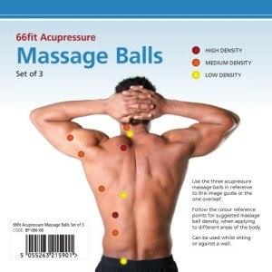 Akkupressurpunkte-66fit Massagebälle