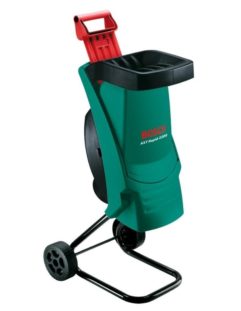 Bosch DIY Gartenhaecksler AXT Rapid 2200 Praktischer Stopfer Karton 2200 W Schneidekapazitaet Max 40 Mm Materialdurchsatz Ca 90 Kg H Hb