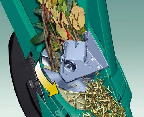 Bosch DIY Gartenhaecksler AXT Rapid 2200 Praktischer Stopfer Karton 2200 W Schneidekapazitaet Max 40 Mm Materialdurchsatz Ca 90 Kg H Wie Funktioniert
