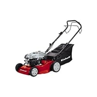 Einhell Benzin Rasenmäher GC-PM 46/1 S (2 kW, 46 cm Schnittbreite, 5-fache Schnitthöhenverstellung 32-70 mm, 60 l Fangsack, Hinterradantrieb)