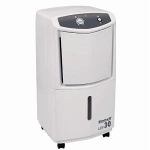 Einhell Luftentfeuchter Bautrockner LEF 30 (560 Watt, bis 30 l pro Tag Luftentfeuchtung, 7 l Kondensatbehälter, Laufrollen)