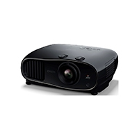 Epson EH-TW6600 3D Full HD Heimkino 3LCD-Projektor (Full HD 1080p, H & V Lensh-Shift, 2.500 Lumen Weiß- & Farbhelligkeit, 70.000:1 Kontrast, 2x HDMI (1x MHL), 1,6x fach Zoom, inkl. 1x 3D Brille) schwarz.