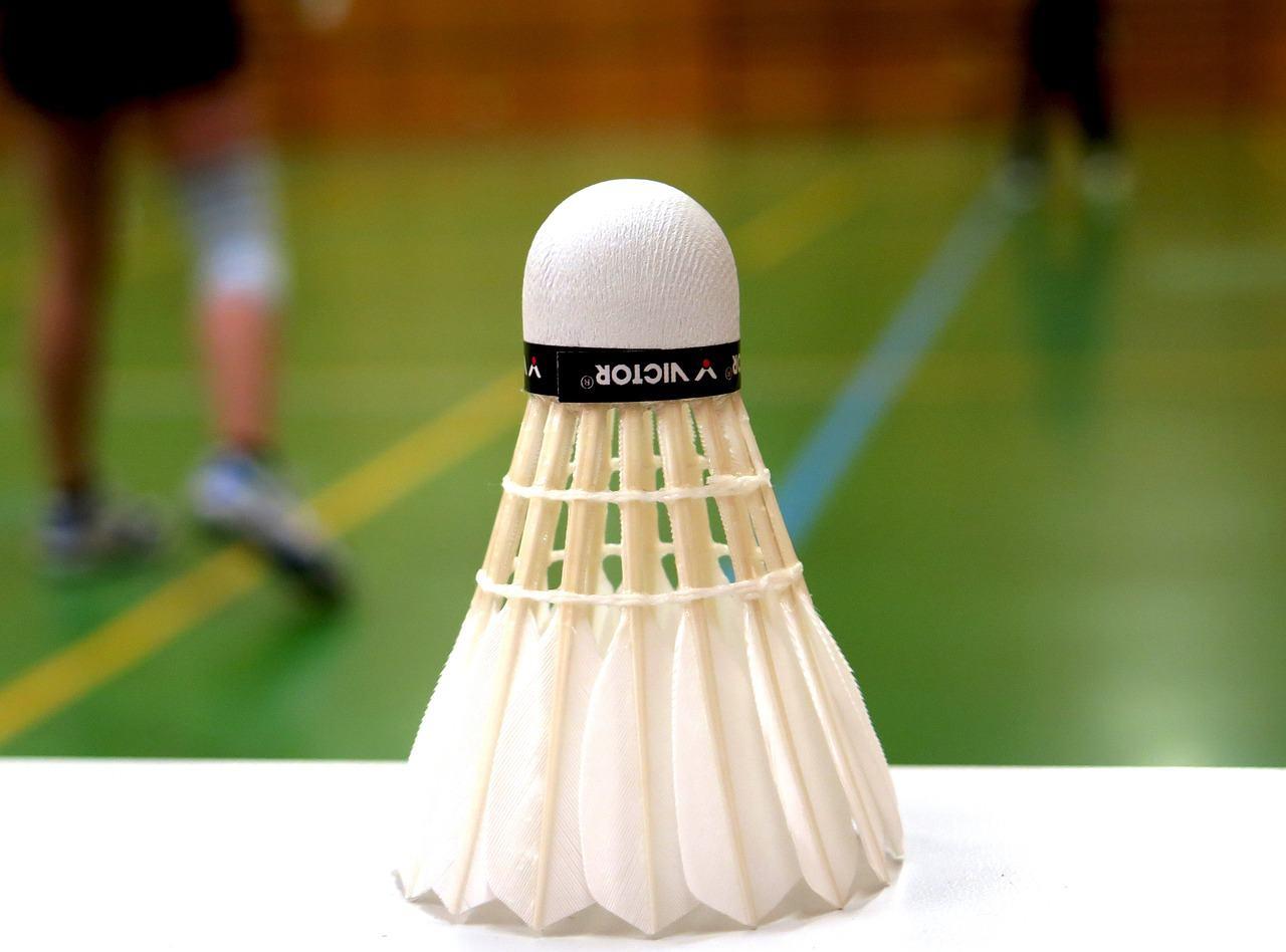Federball beim Badminton