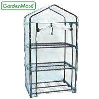 Das GardenMate® 3-Etagen Gewächshaus belegt Platz 10