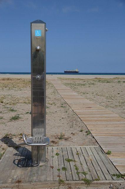 Gartendusche_beach