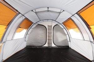 Grand Canyon Parks 5 - Familienzelt (5-Personen-Zelt), grau/orange, 302024
