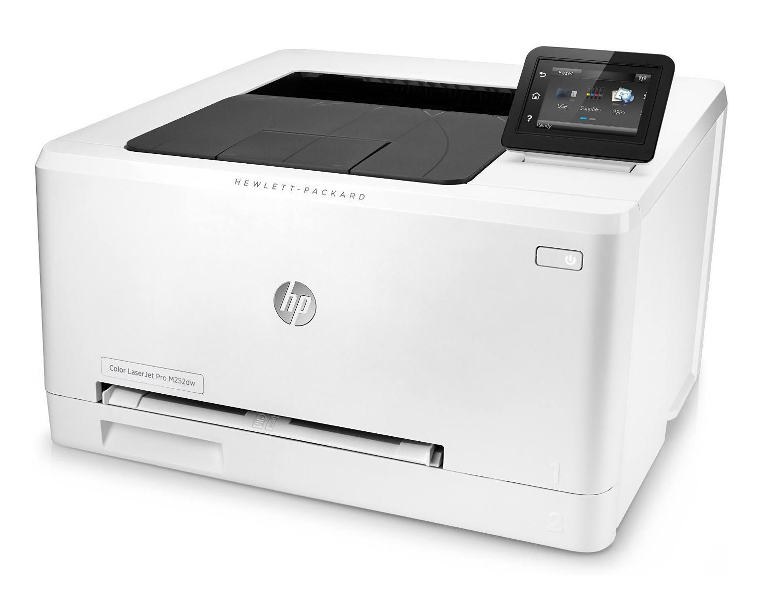 HP Color LaserJet Pro 200 M252dw Farblaserdrucker im Test